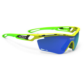 Rudy Project Tralyx Fade Fluo Glasses yellow/green-blue